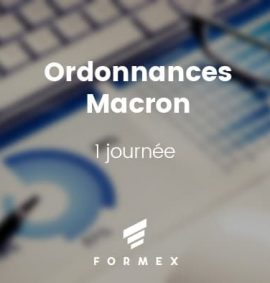 Formation Ordonnances Macron décrets d'application