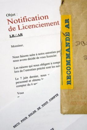 suspension du contrat licenciement